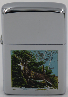 1977 deer silkscreen chrome in image.JPG 1 known