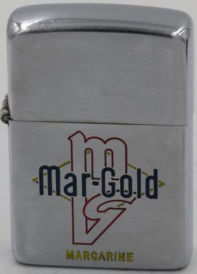 1949-51 Zippo advertising Mar-Gold margarine