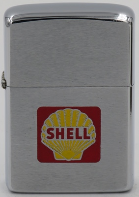 1975 Zippo with the yellow and red Shell logo