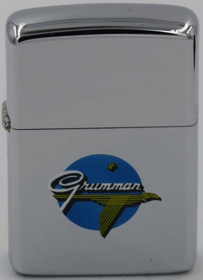 1953-54 high-polish Zippo with the T&C  Grumman logo