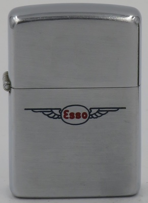 1952-53 Zippo engraved with the ESSO logo with wings.