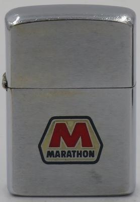 1965 Zippo with the Marathon Oil logo