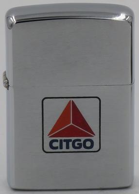 1966 Zippo with a CITGO Petroleum Corporation logo