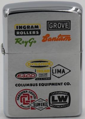 1969 Columbus Equipment logos.JPG