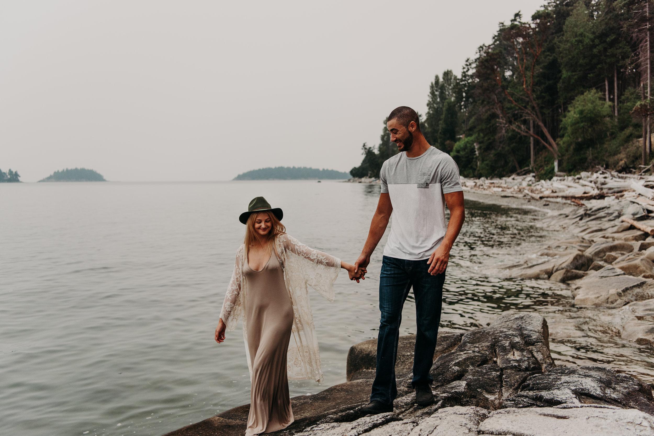 Sierra & Tyler Summer Beach Couples Session - Laura Olson Photography - Sunshine Coast BC Photographer-2380.jpg