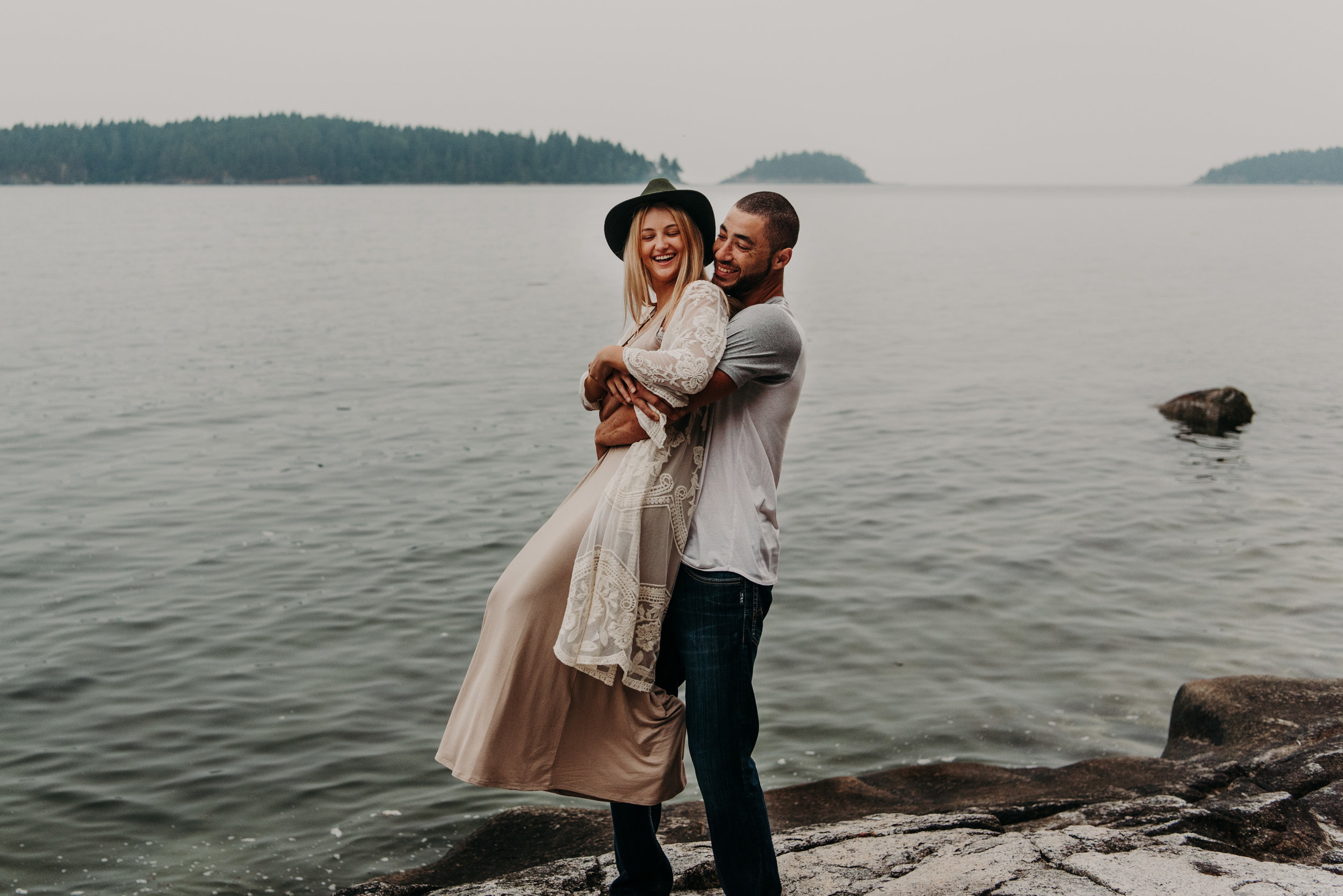 Sierra & Tyler Summer Beach Couples Session - Laura Olson Photography - Sunshine Coast BC Photographer-2392.jpg