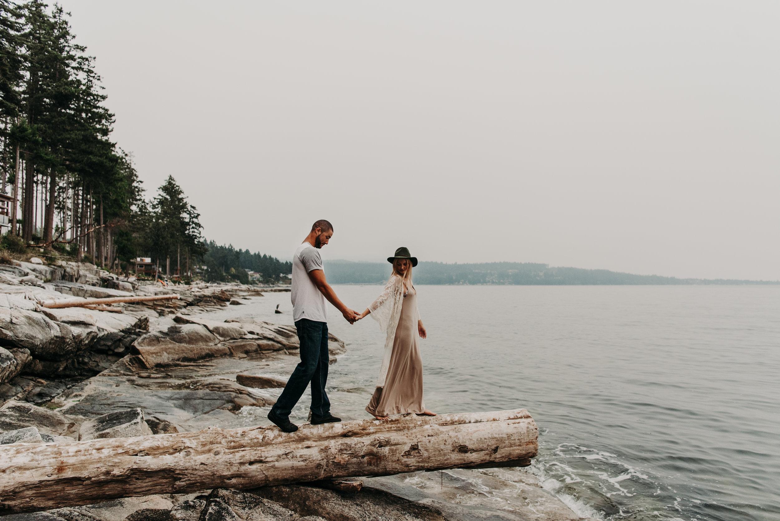Sierra & Tyler Summer Beach Couples Session - Laura Olson Photography - Sunshine Coast BC Photographer-2475.jpg