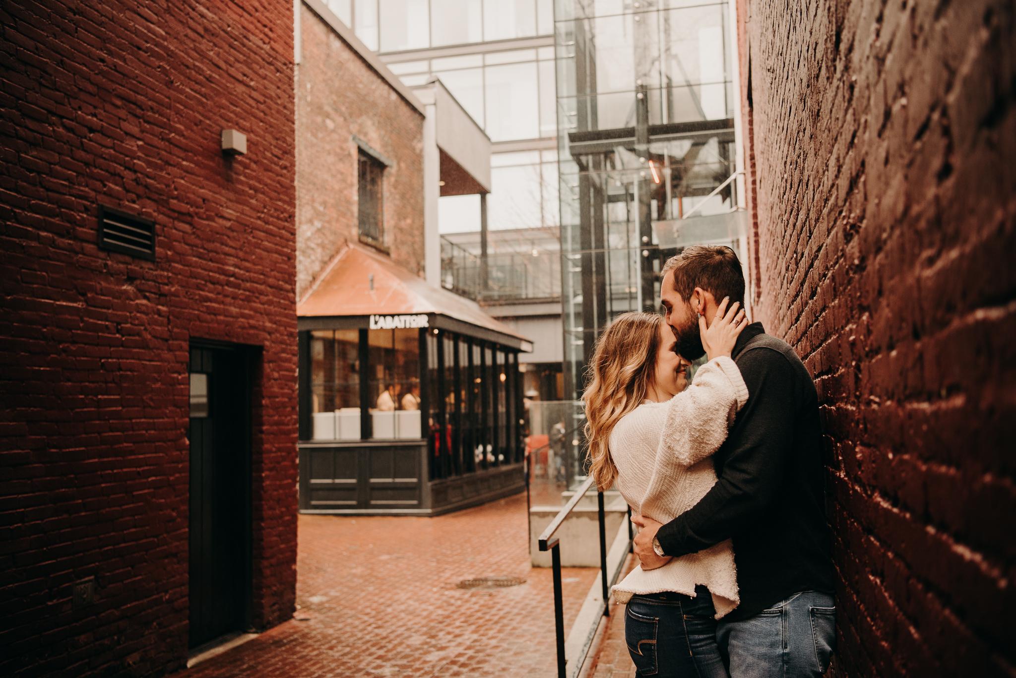 Amanda & Eric Gastown Vancouver Engagement Session - Laura Olson Photography - Sunshine Coast BC Photographer - Vancouver Photographer-2153.jpg
