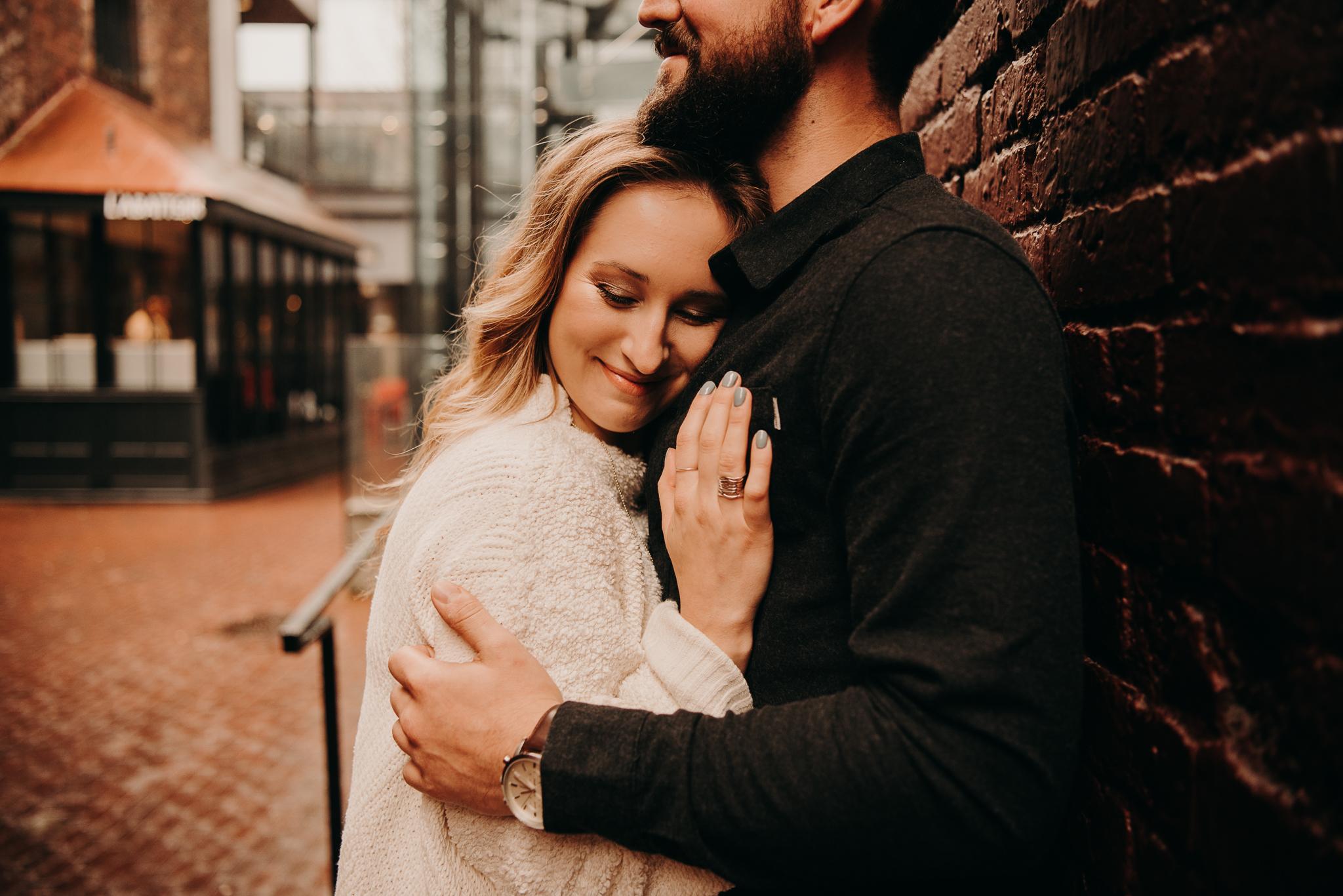 Amanda & Eric Gastown Vancouver Engagement Session - Laura Olson Photography - Sunshine Coast BC Photographer - Vancouver Photographer-2158.jpg