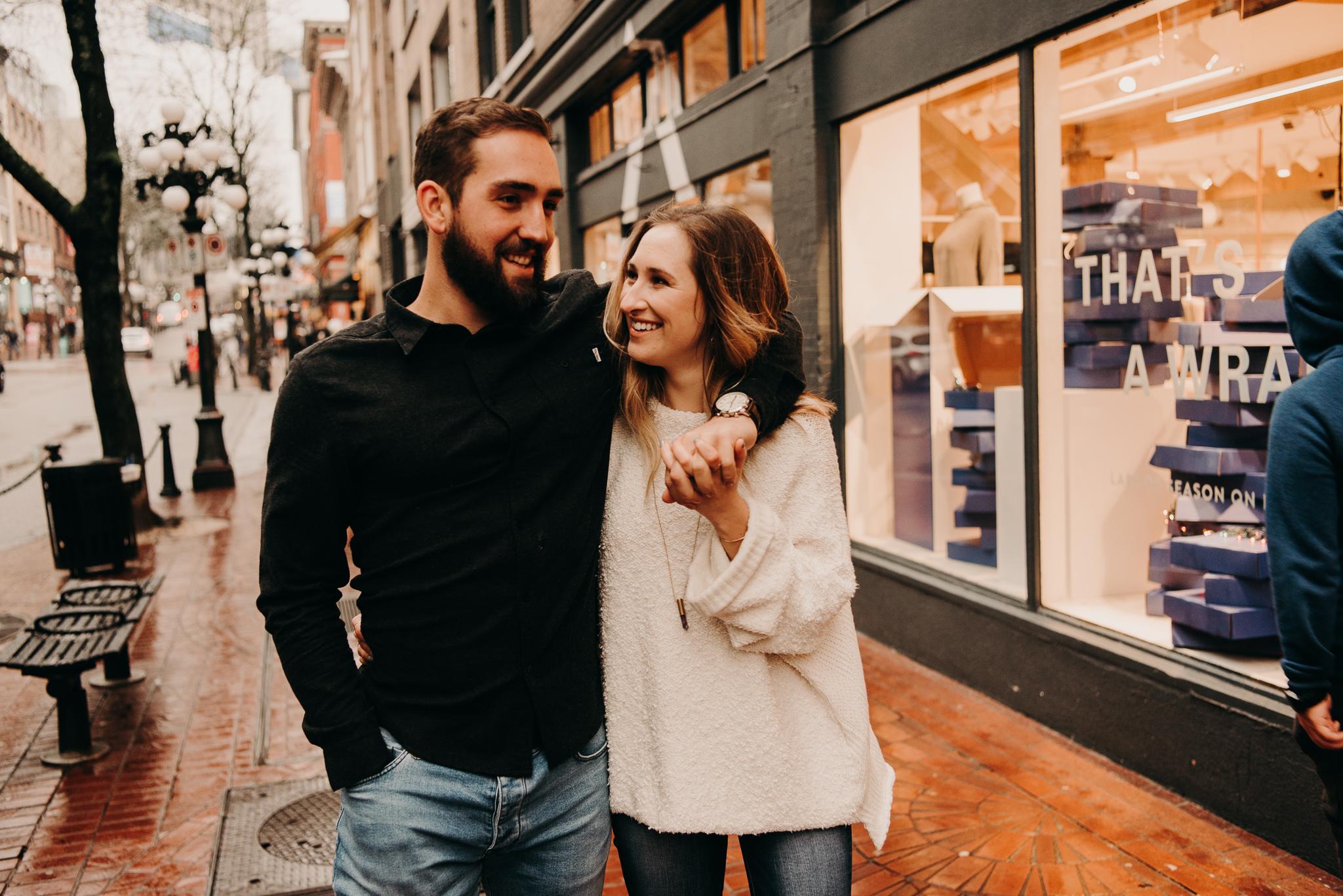 Amanda & Eric Gastown Vancouver Engagement Session - Laura Olson Photography - Sunshine Coast BC Photographer - Vancouver Photographer-2446.jpg