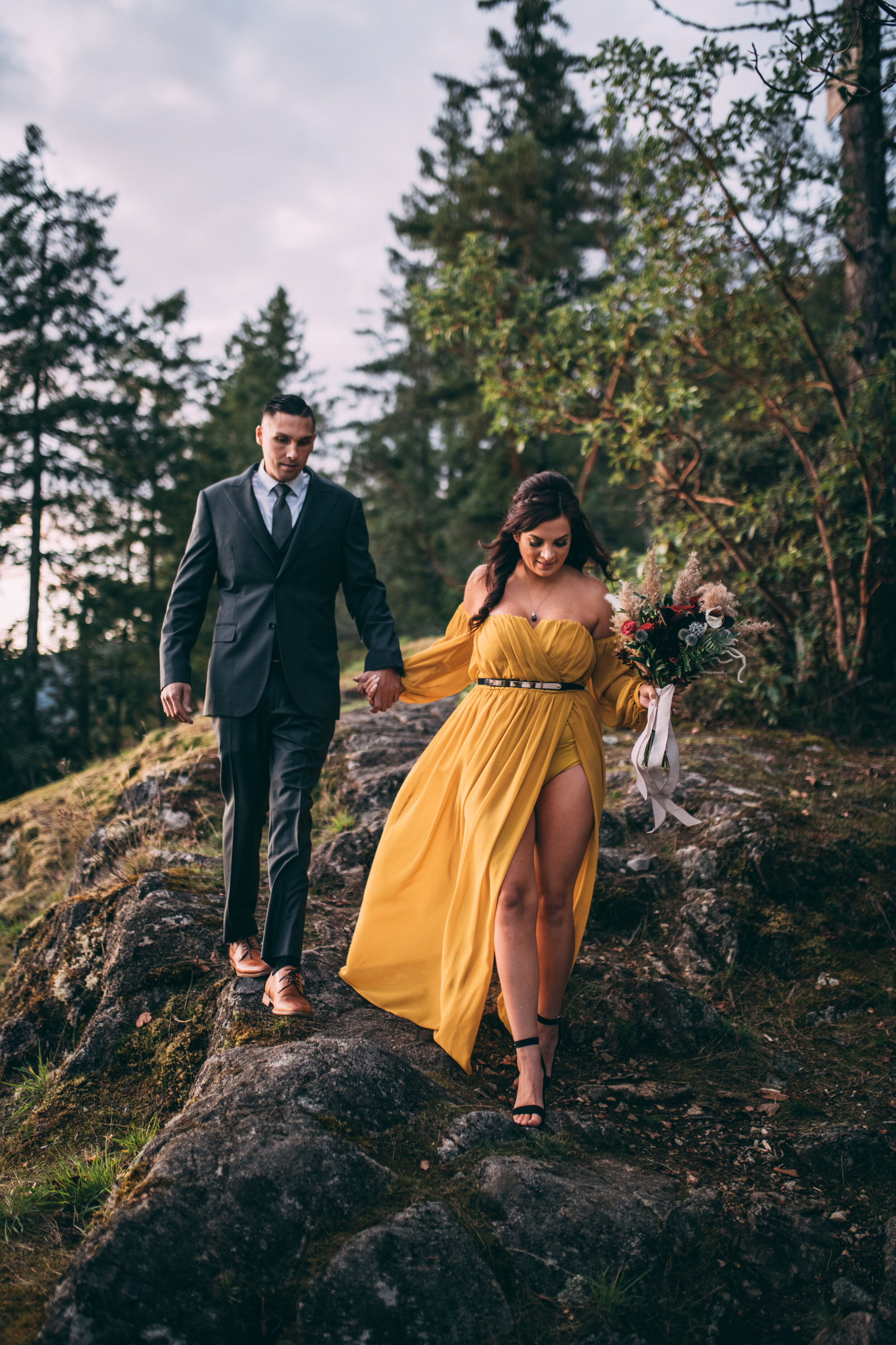 Caitlin & Kevin - Ruby Lake Engagement Session - Pender Harbour, BC - Laura Olson Photography - Sunshine Coast BC Wedding & Elopement Photographer-8773.jpg