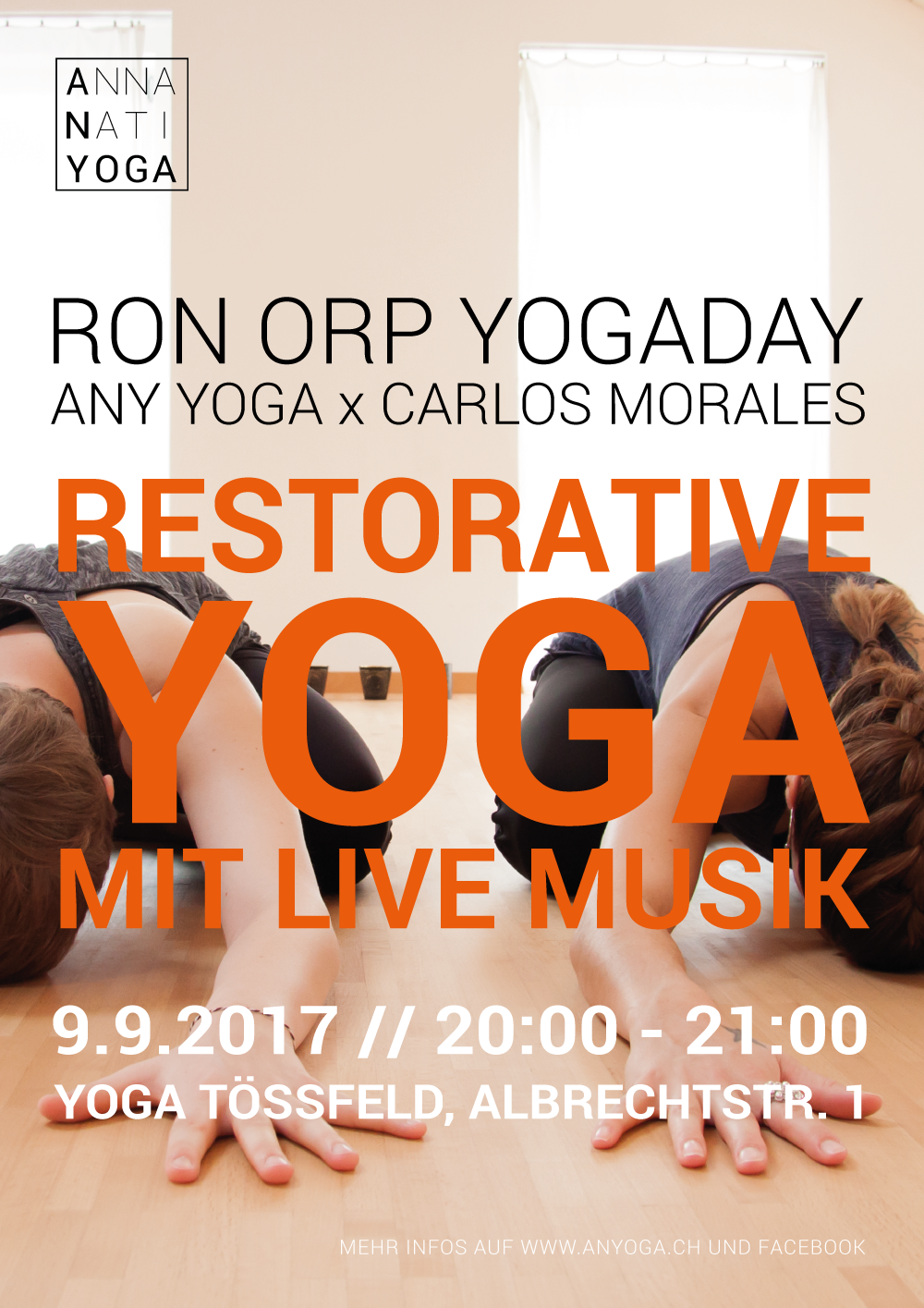 RONORP YOGA DAY IN WINTERTHUR // September 2017