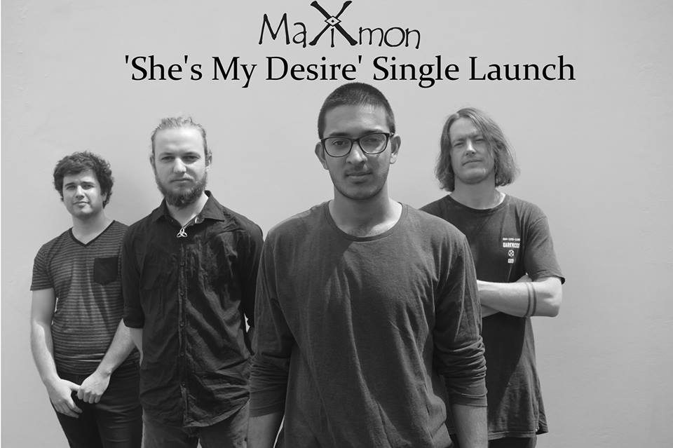 """Maximon 's 'She's My Desire' Single Launch  Support sets from:  Plastic Jack   Neophema  Loki Hines   Maximon 's Latest Single """"She's My Desire"""" is finally here! They have been writing new material since early 2018 and now are releasing their new sound at The Chippo Hotel with some of Sydney's best talent. After recording their new single at Everland Studios it's clear that these guys have gone on a transformation, with their sights set on a new sound.   Plastic Jack   Plastic Jack's exceedingly thorough blend of alternative rock and roll and psychedelia funk divert themselves from every day artists. The quartet deliver an excellent display of composition and their electrifying songs live performance which will have the viewers singing their songs on the way home.   Neophema   Introducing the new kids on the block - 3 chicks, 1 dick. Their sounds will penetrate your aural cavities with flavours of soul and funk, so strap in and enjoy.  Loki  Loki is known around the Illawarra for his talent as a performer Singer Guitar player. He is an interesting and engaging song writer and has more recently recorded his first EP which is due for release in the coming months. Loki has performed with names such a Kim Churchill, Daniel Champagne, Shaun Kirk and Steve Smyth and is becoming a must-see act in the act in the Australian music scene.  TIX: $12.50 online 