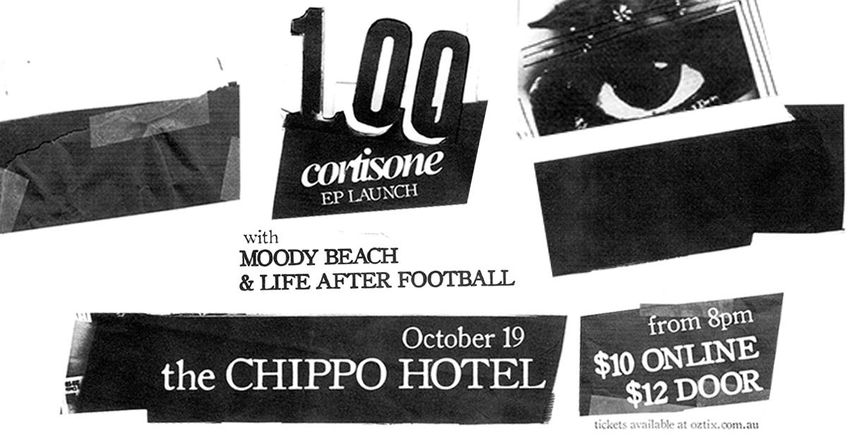 100 'Cortisone' EP launch.jpg