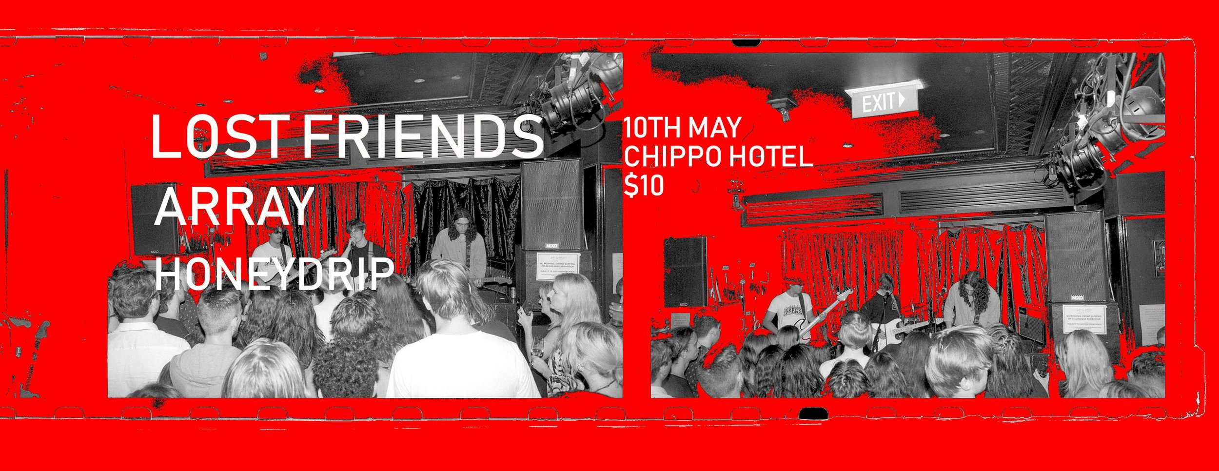 Lost Friends :: Array :: Honeydrip at the Chippo.jpg