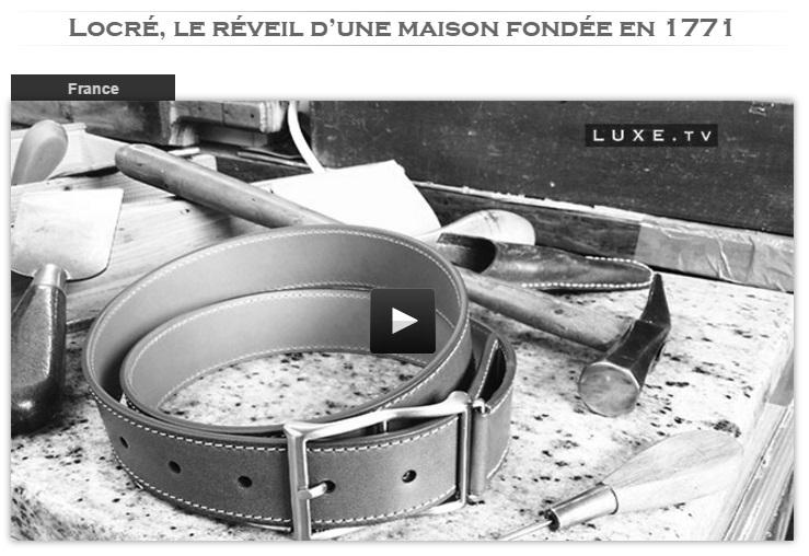 Luxe.TV maison locre paris