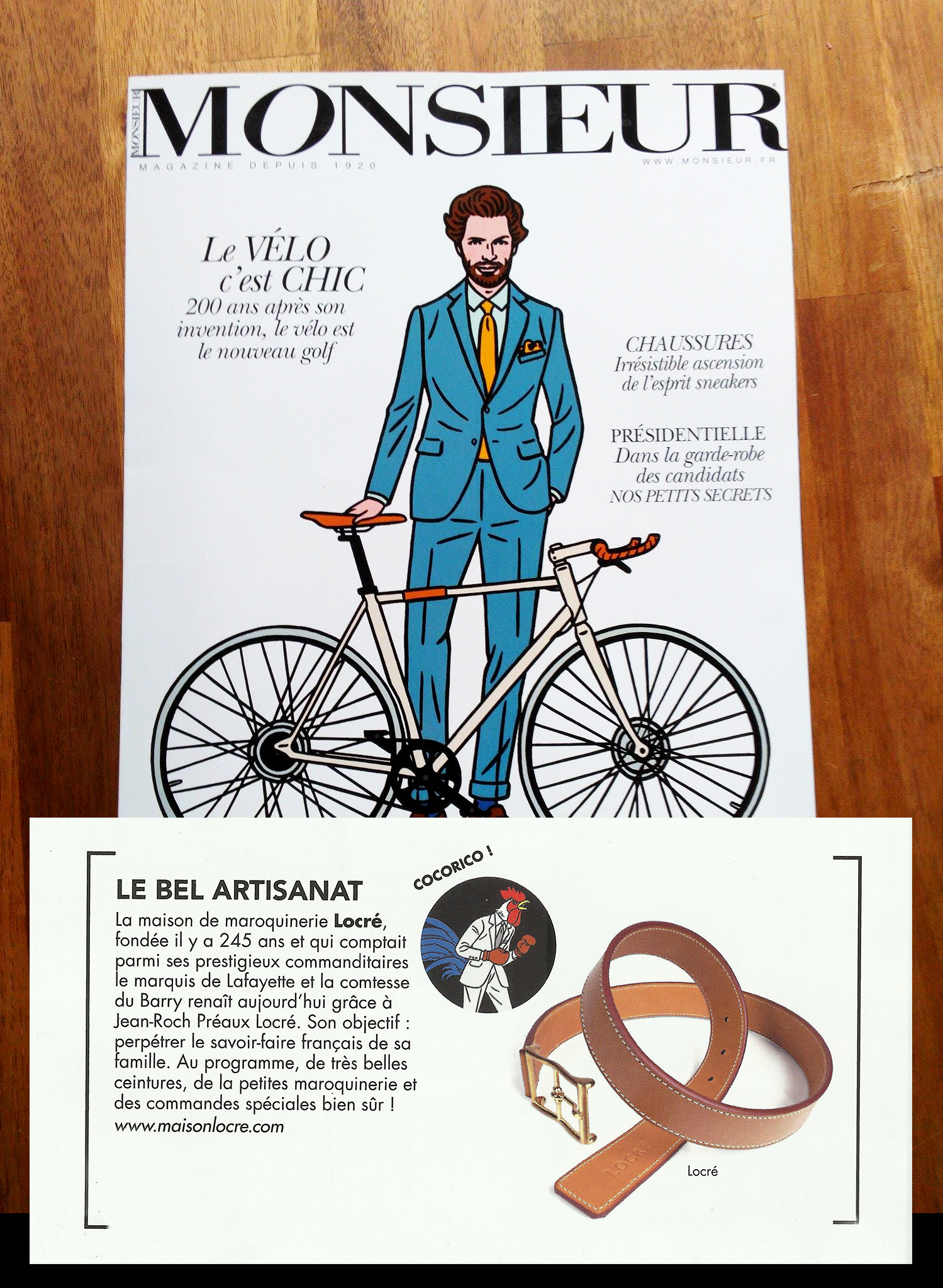 magazine monsieur maison locré paris