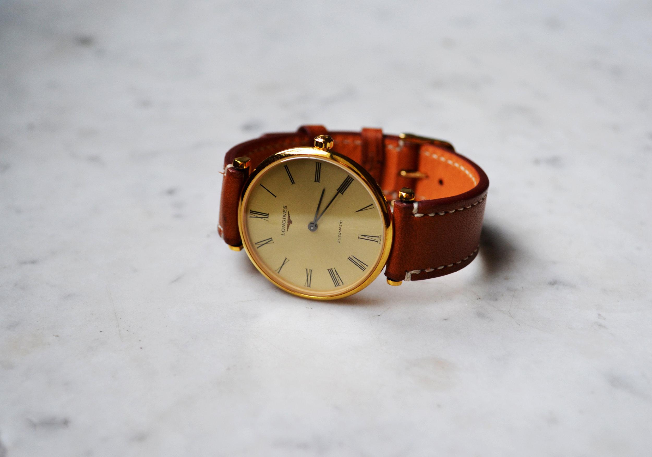 Le Bracelet de Montre  Chronos  - Locré Paris