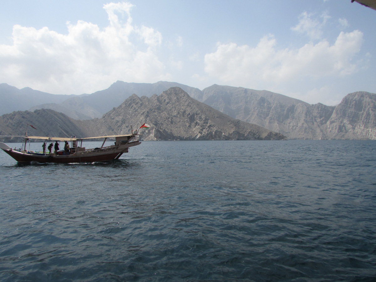 Not our Dhow, but ours was the same
