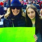 Ilana Levine & her daughter