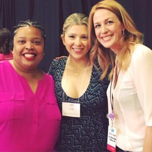Dr. Kimberly Clay, Liz Loza, and Katie Ward