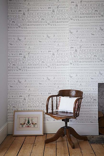 Abigail Edwards - Wallpaper Collection - Cross Stitch