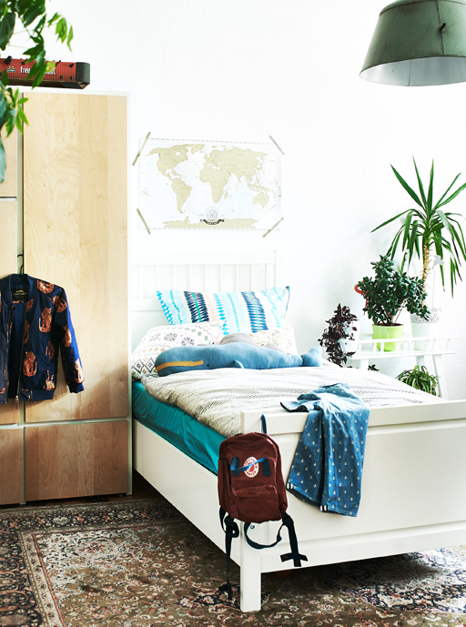 Kids bedroom Ikea Berlin vintage