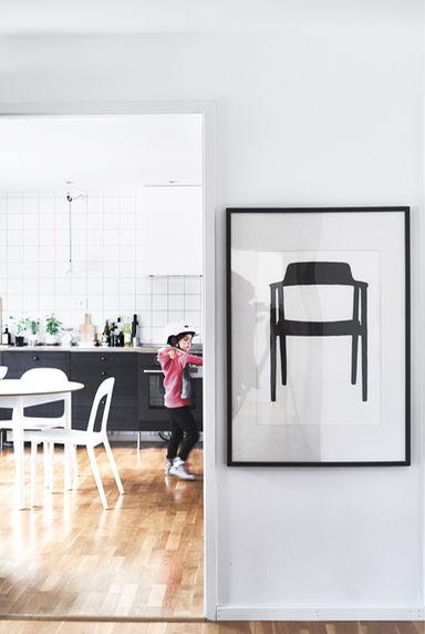 View to kitchen Ikea