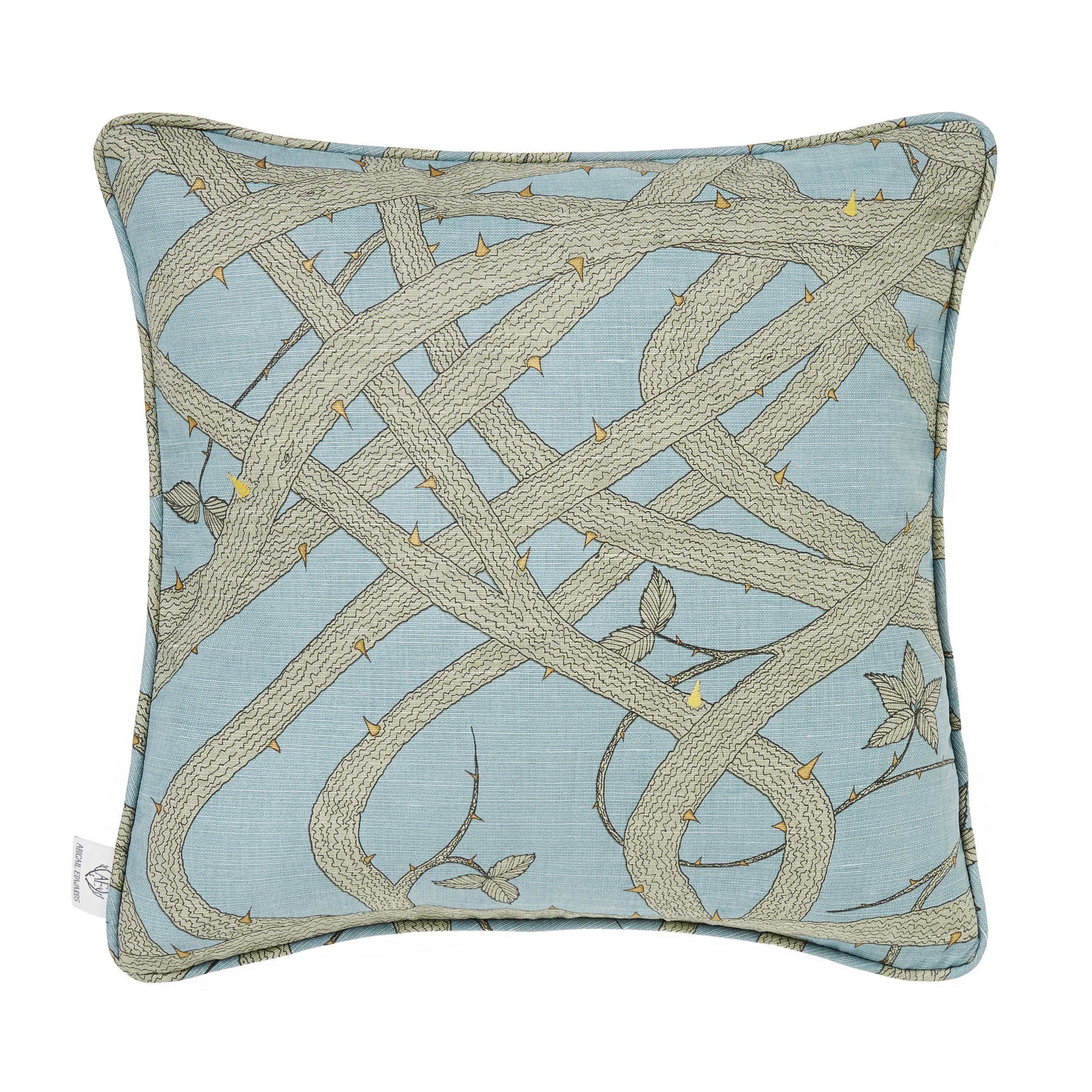 Brambleweb at Dusk cushion cover