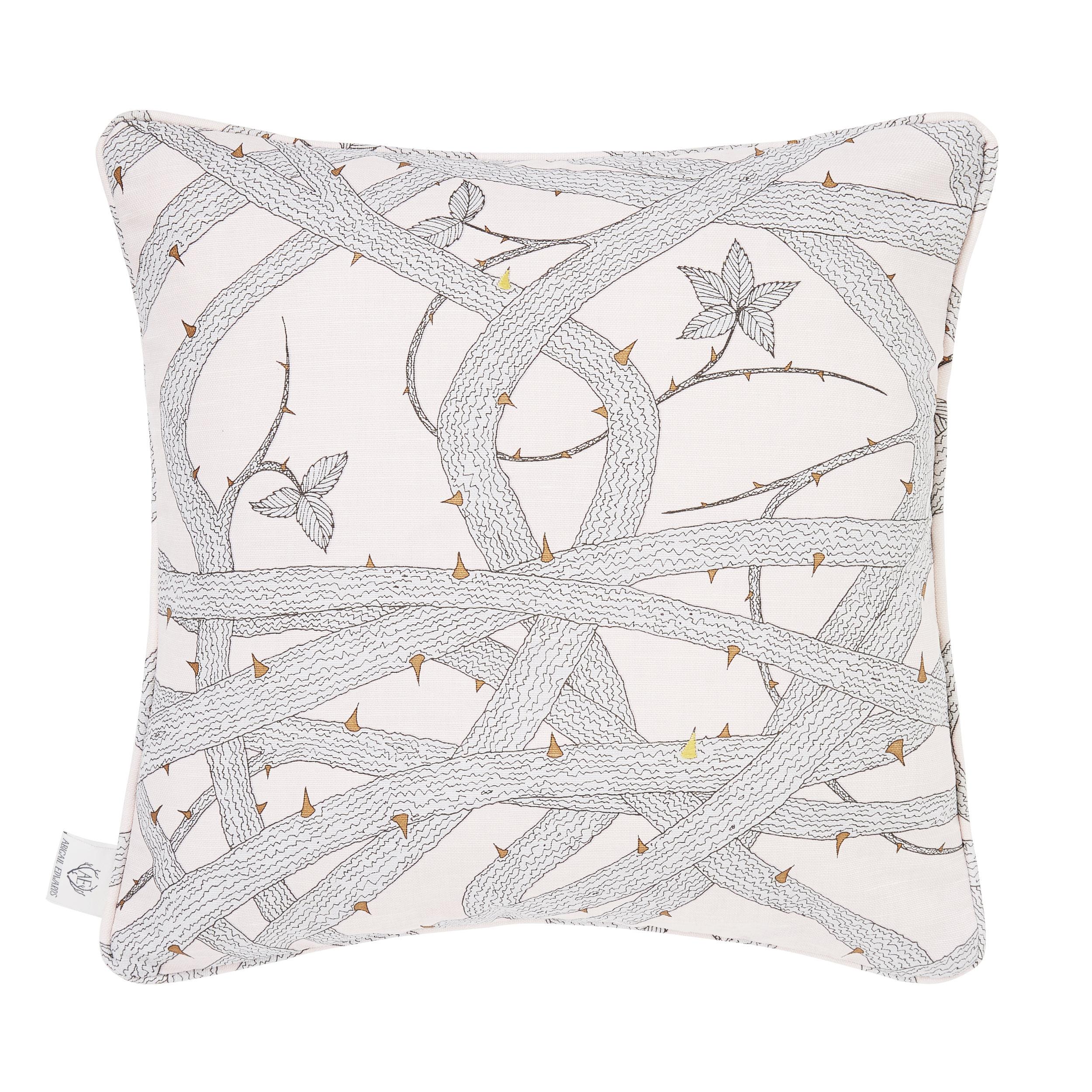 Brambleweb Nude cushion cover