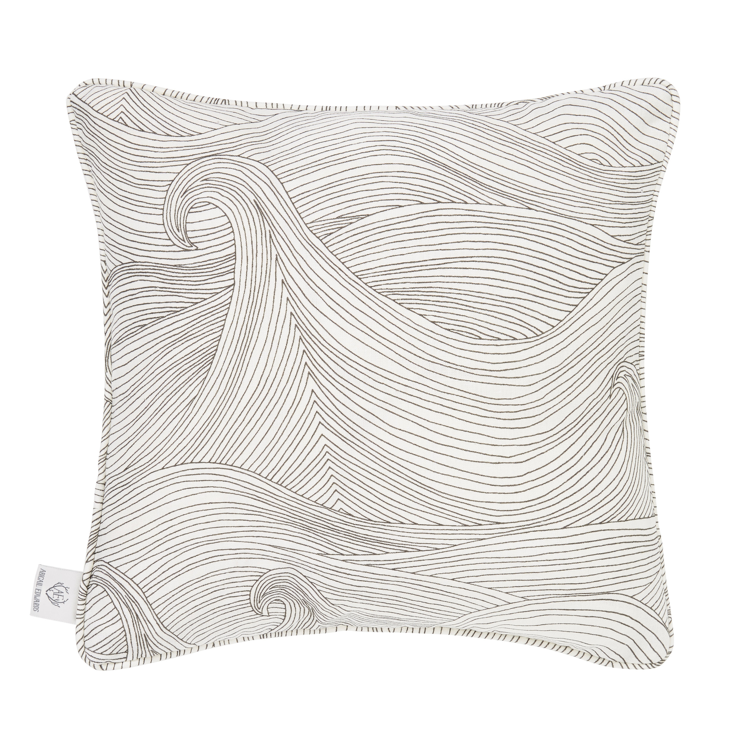 Seascape in Winter cushion cover
