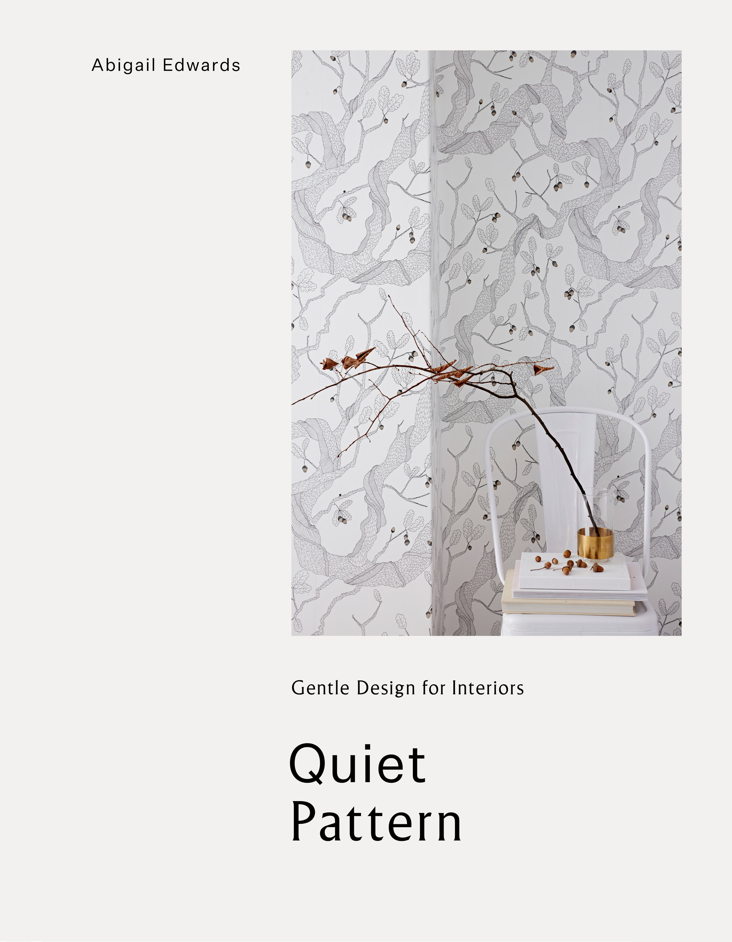 The Cover for Quiet Pattern by Abigail Edwards