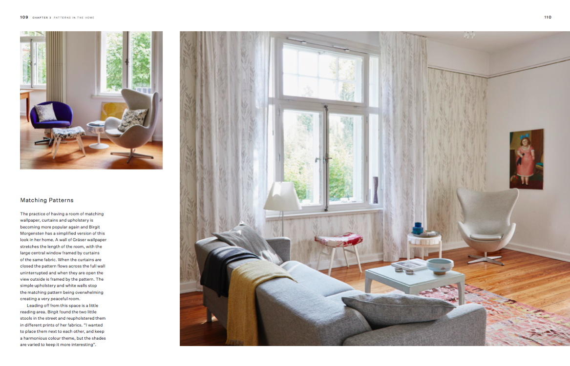 Birgit Morgenstern's designs at her home in Germany