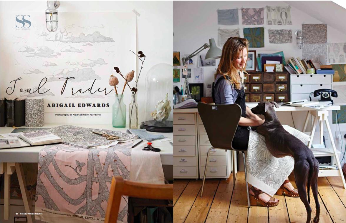 Abigail Edwards in Where Women Create