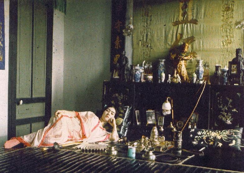Opiomane indochinoise | Léon Busy [1915]