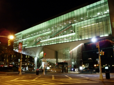 The Diamond Building at Juilliard