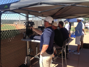 Scouts at the Perfect Game Tournament, AZ