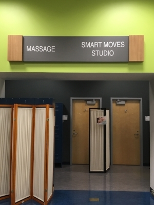 UA Rec Center Massage Room