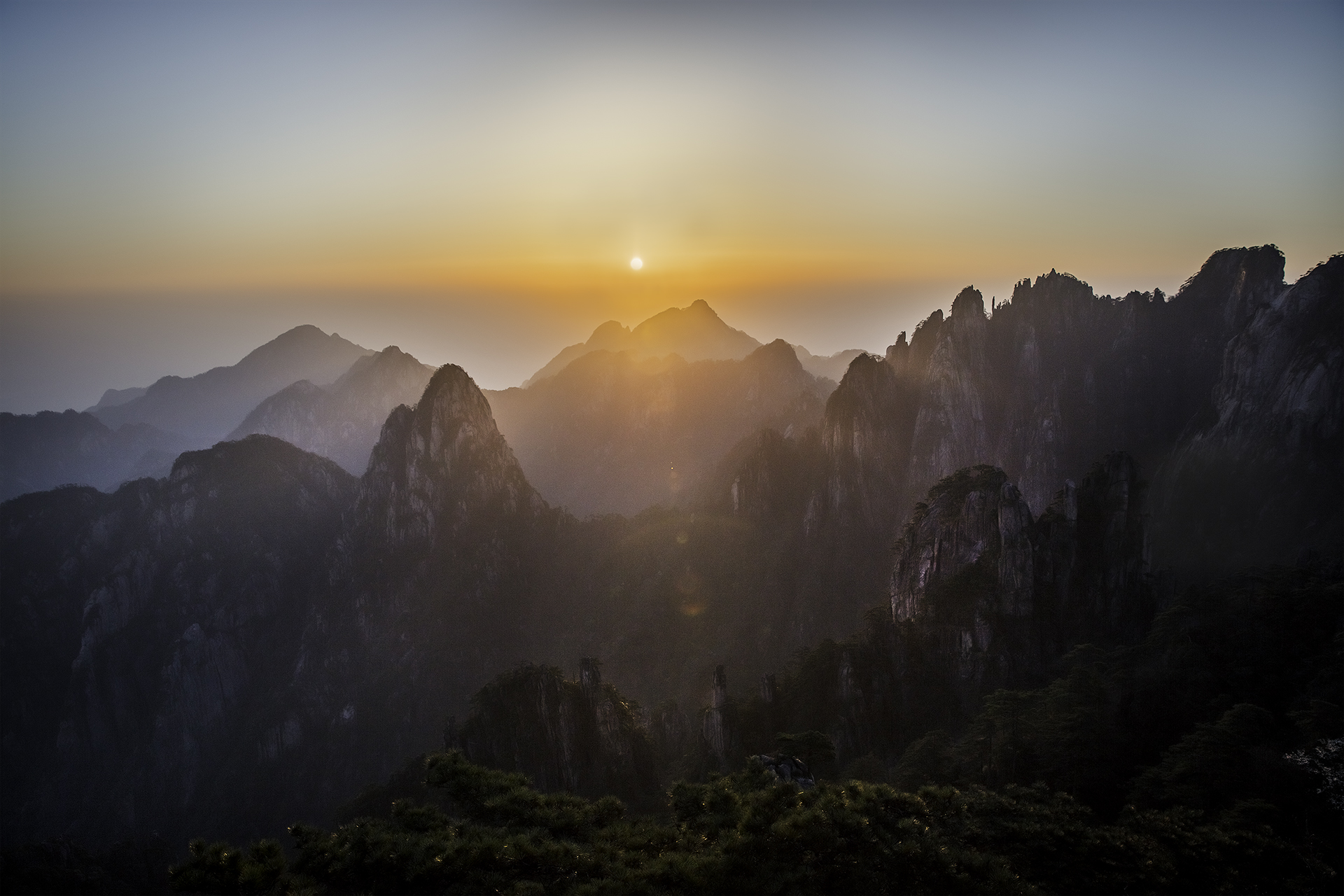 Huangshan National Park, Anhui