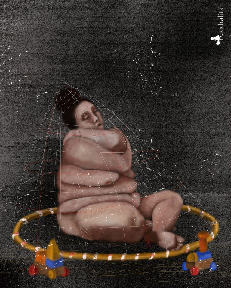 "DIE HAUT 60 x 80 cm (max. 3m hight)  Print on ""William Turner"" Hahnemühle"