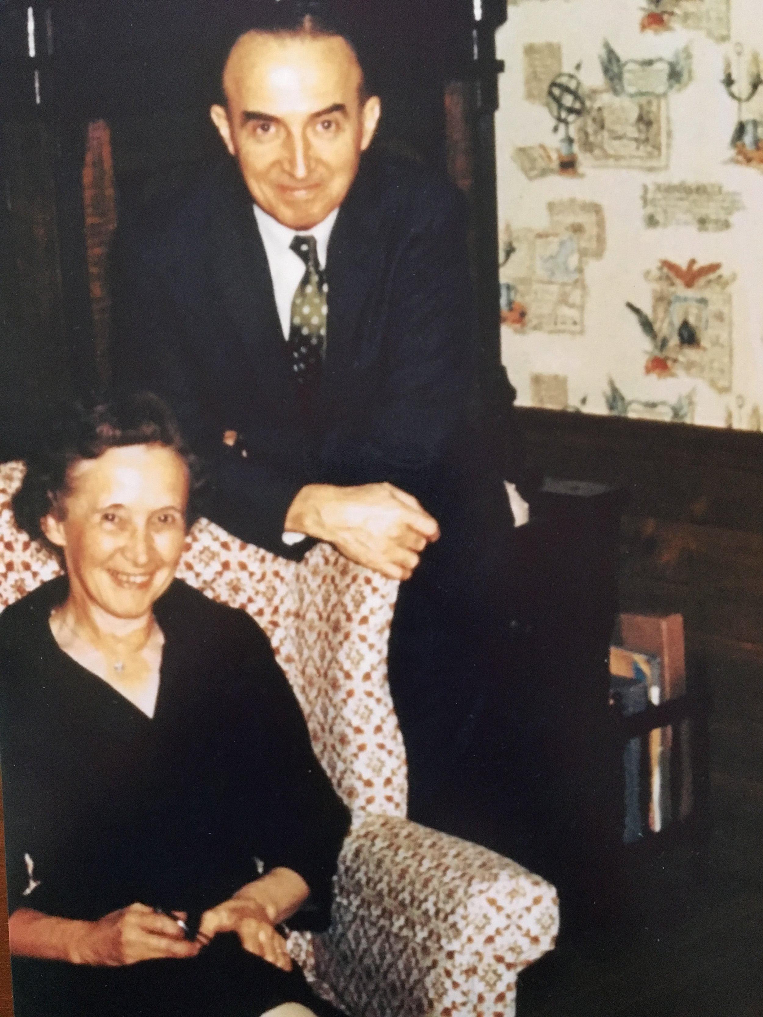 Dr Ralph and Esther Warburton