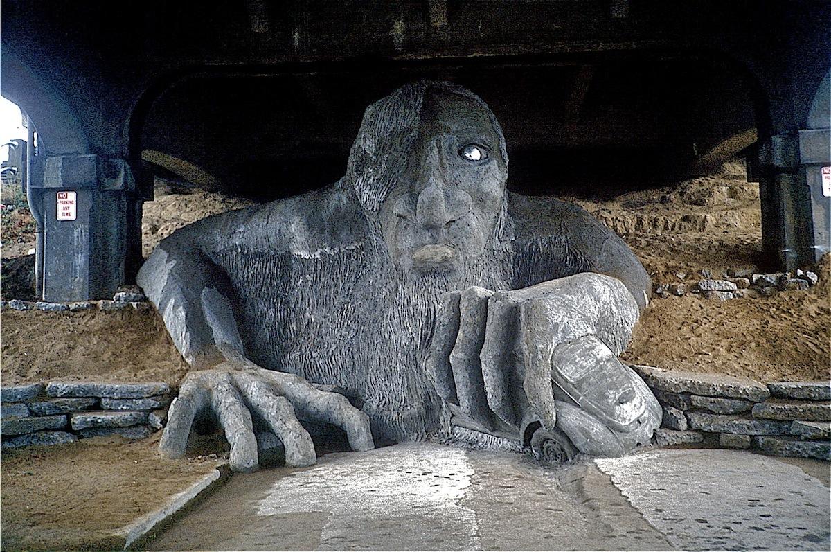 Fremont Troll (Seattle, WA)