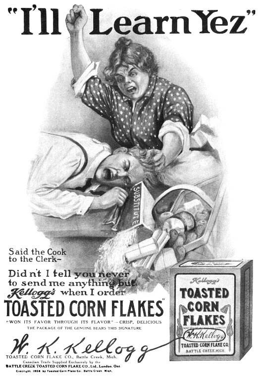 DOES KELLOGG STILL ADVOCATE VIOLENCE IN SETTLING COMMERCIAL DISPUTES?