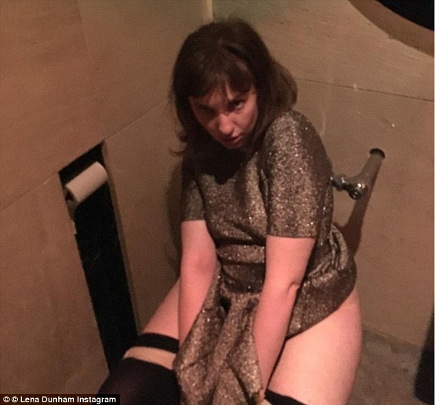 Lena dunham vows to continue purging until the donald resigns or is impeached