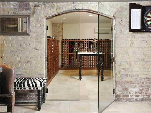 """Zebra in the wine room (h/t, """"WICKETS"""" for POINTING this out)"""