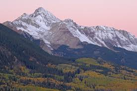 Wilson Peak: Coor's logo, but also the last mountain John and I saw when we were together in Telluride: a fond memory.