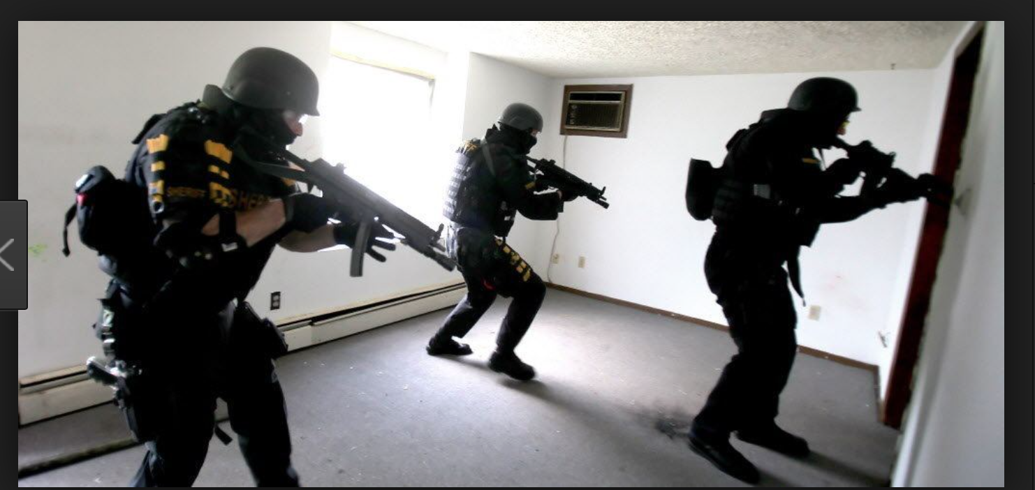 Tranny Protection Force at work