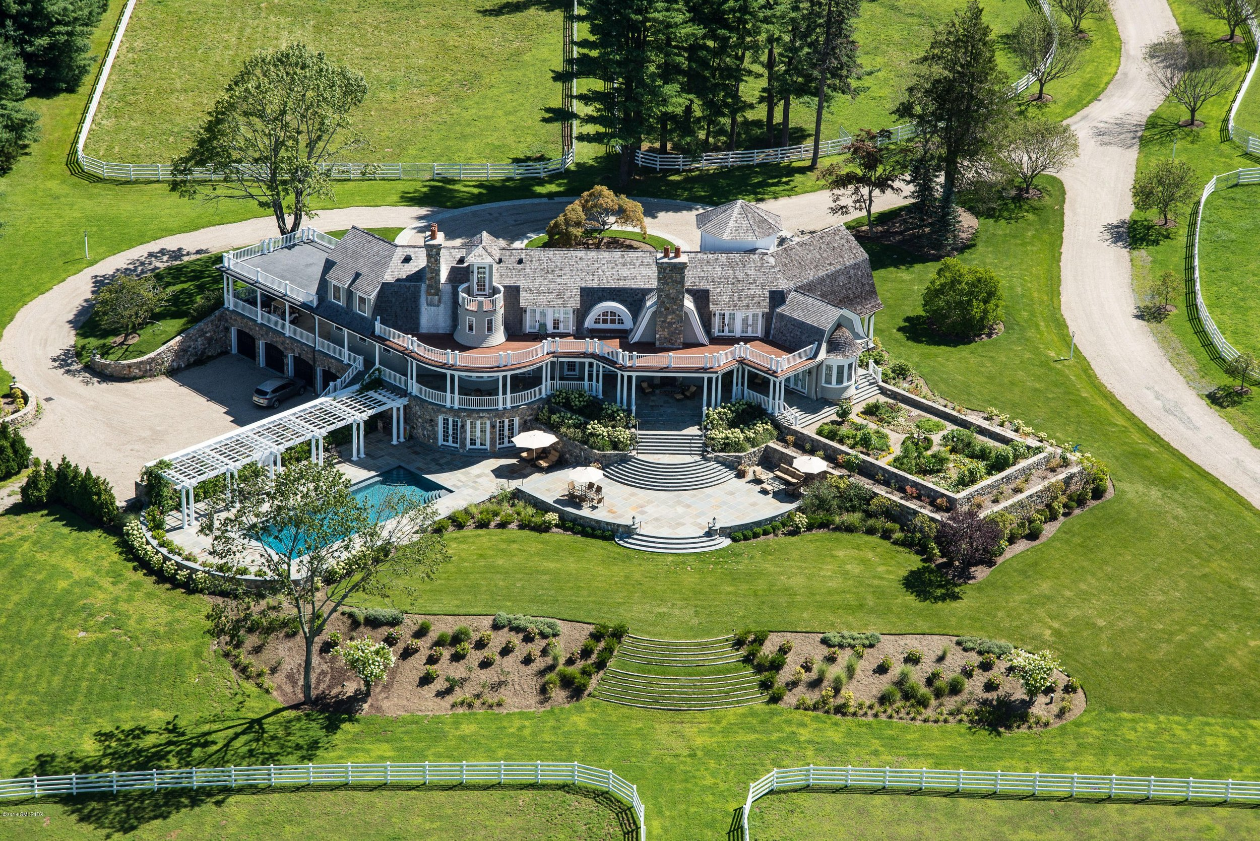 Spec house @ 429 Taconic Road. Priced at $23.5 million in 2013, current price $14.750