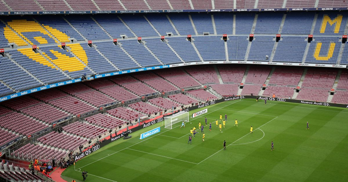 If balls are kicked in an empty stadium, will anyone feel it? Or pay to see it happen?