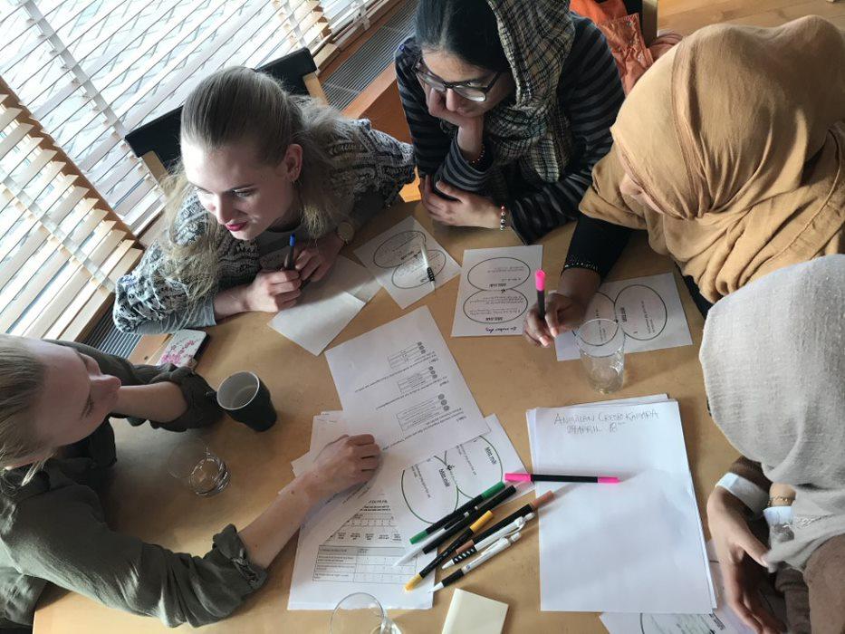Diskussioner om drömmar och mål, Göteborg.